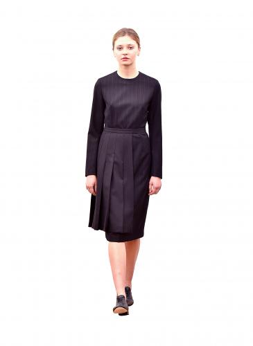 COMME des GARÇONS Noir Kei Ninomiya條紋連身裙NT$20,000