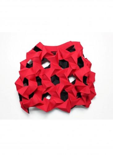 Junya Watanabe立體幾何紅色上衣NT$128,000
