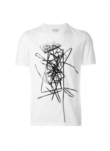 Maison Margiela 電音風格印花T-shirt NT$11,800
