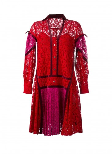 Sacai蕾絲洋裝_NT$55,000 (2)