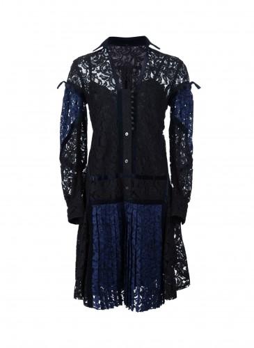 Sacai蕾絲洋裝_NT$55,000
