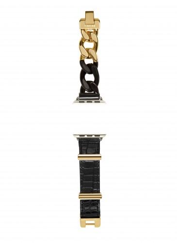 Sacai金黑色Apple Watch錶帶_NT$19,800_1