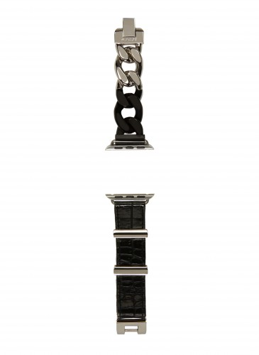 Sacai銀黑色Apple Watch錶帶_NT$19,800_1
