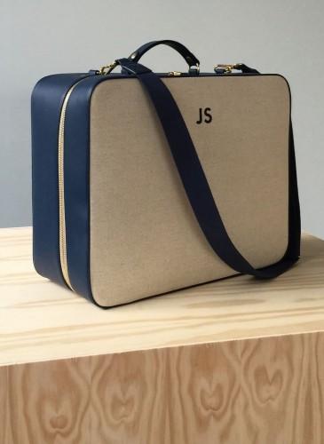 #luniform #valise #suitcase #monogram