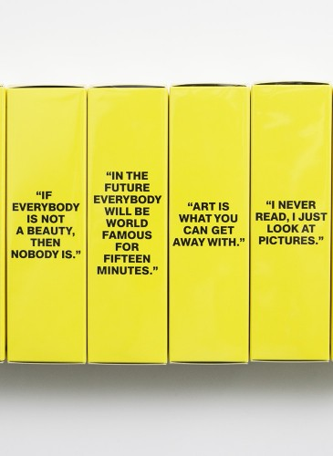 Comme des Garçons Parfum × Andy Warhol You're In淡香水,NT$4,000。(團團精品)-2