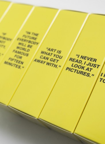 Comme des Garçons Parfum × Andy Warhol You're In淡香水,NT$4,000。(團團精品)-3