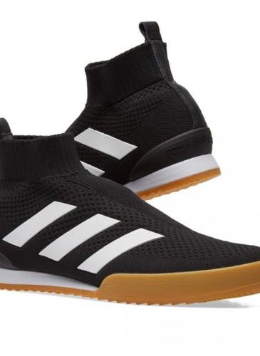 Gosha Rubchinskiy × adidas聯名黑色休閒鞋,NT$11,800。(團團精品)-1