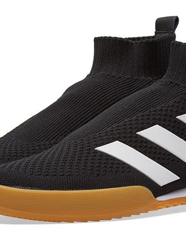 Gosha Rubchinskiy × adidas聯名黑色休閒鞋,NT$11,800。(團團精品)-2