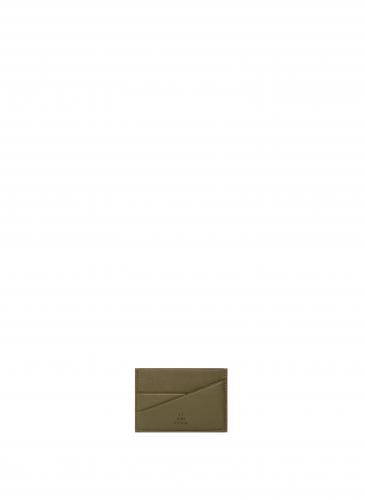 LUNIFORM N°58軍綠色名片夾(CARD HOLDER),NT$ 10,600。