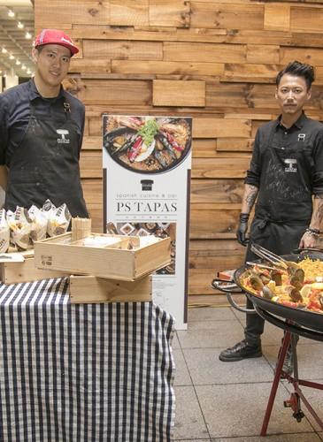 PS TAPAS特製西班牙海鮮燉飯和小食。-2