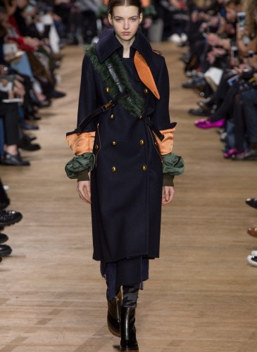 Sacai FW17 Runway - 6 (Photo Credit by Vogue.com)