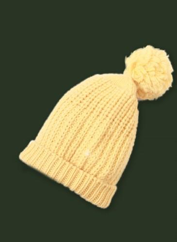45R黃色毛帽,NT$12,580。綠
