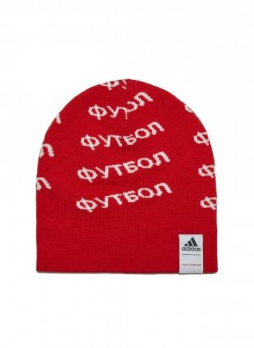 Gosha Rubchinskiy聯名adidas Logo針織毛帽,NT$1,200(團團精品) (男款)