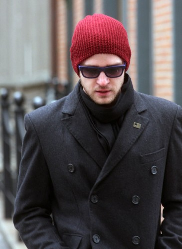 Justin-Timberlake-Hat-Fashion-cap-red