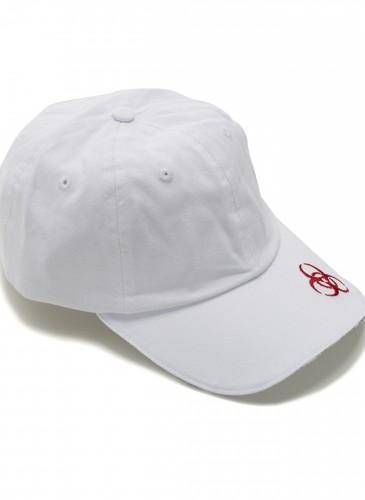VETEMENTS白色圓形符號帽子,NT$9,000。(團團精品)