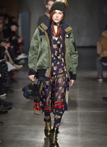 Sacai Paris Menswear Fall Winter 2017 January 2017
