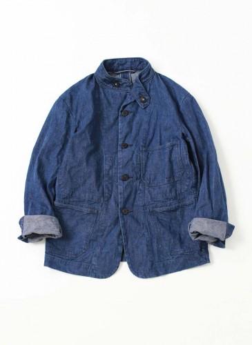 45R丹寧襯衫式外套,NT$26,680。