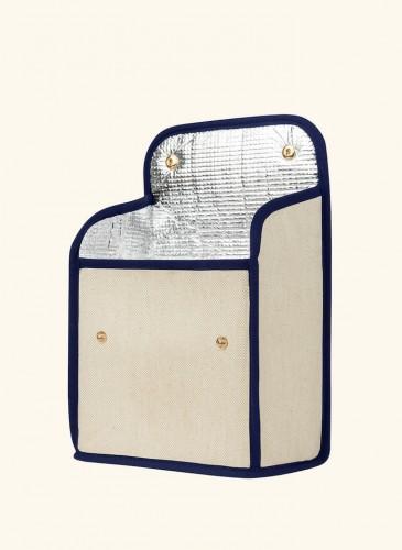 LUNIFORM N°95米藍配色LUNCH BAG,NT$ 14,000。(展開圖)