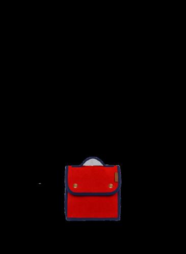 LUNIFORM N°95藍紅配色LUNCH BAG,NT$ 14,000。