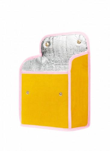 LUNIFORM N°95黃粉配色LUNCH BAG,NT$ 14,000。(展開圖)