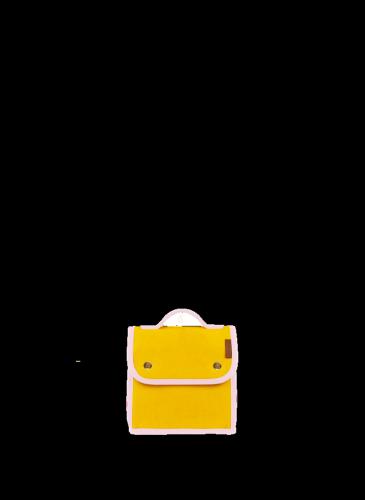 LUNIFORM N°95黃粉配色LUNCH BAG,NT$ 14,000。