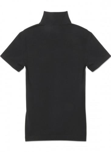 Vetements黑色套頭LOGO Tee,NT$20,800。(團團精品) - 反面