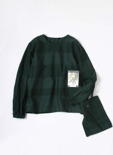 45R 2018春季歲時記「柳芽」裝飾罩衫, NT$25,880。
