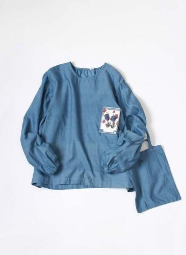 45R 2018春季歲時記「鬱金香」裝飾罩衫, NT$25,880。