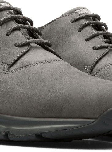 CAMPER Drift灰色麂皮踝靴設計休閒鞋,NT$7,680。(女款)-2