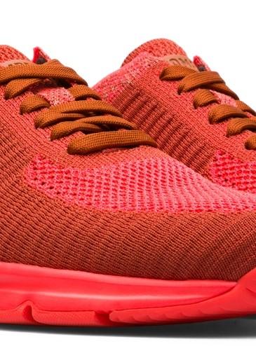 CAMPER Drift紅色不織布運動休閒鞋,NT$8,280。(女款)-2