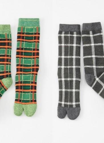45R格紋忍者襪,各NT$3,800。