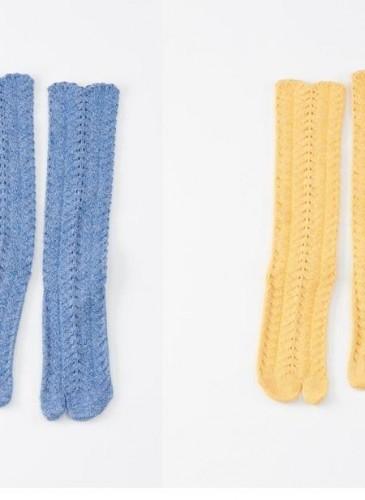 45R素面忍者襪,各NT$3,800。