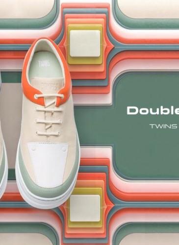 CAMPER本季首波推薦SS19 TWINS系列鞋款,NT$7,680。(男女款) 形象圖-2
