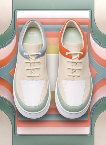 CAMPER本季首波推薦SS19 TWINS系列鞋款,NT$7,680。(男女款) -1