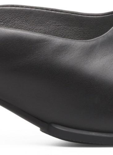 Camper Katie系列黑色寬跟便鞋,NT$6,680。(女鞋)