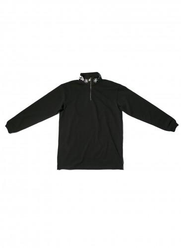 VETEMENTS黑色拉鍊領上衣,NT$31,200。(團團TEEMARKET)
