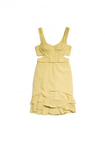 JONATHAN SIMKHAI 2019春夏系列細肩帶洋裝,NT$23,800。(團團)