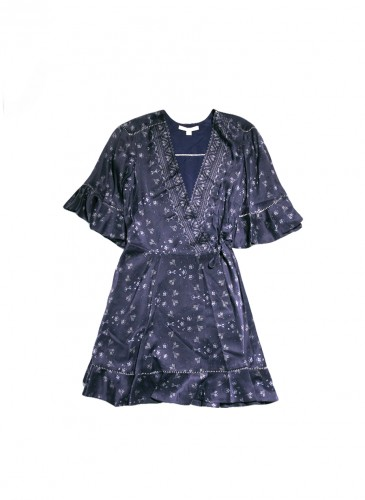 JONATHAN SIMKHAI 2019春夏系列深V洋裝,NT$27,800。(團團)
