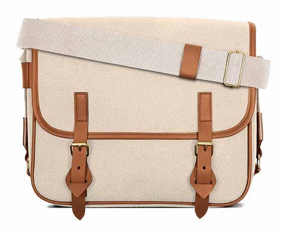 LUNIFORM No.43米×咖啡色側背包,NT$28,000。-1