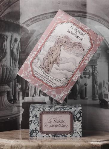 Buly 1803 羅浮宮限定系列香氛明信片