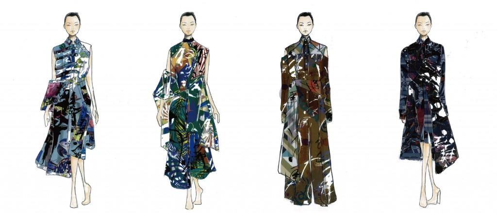 讀衣IV參與服裝設計師設計圖稿 - 黃偉豪(Daniel Wong)