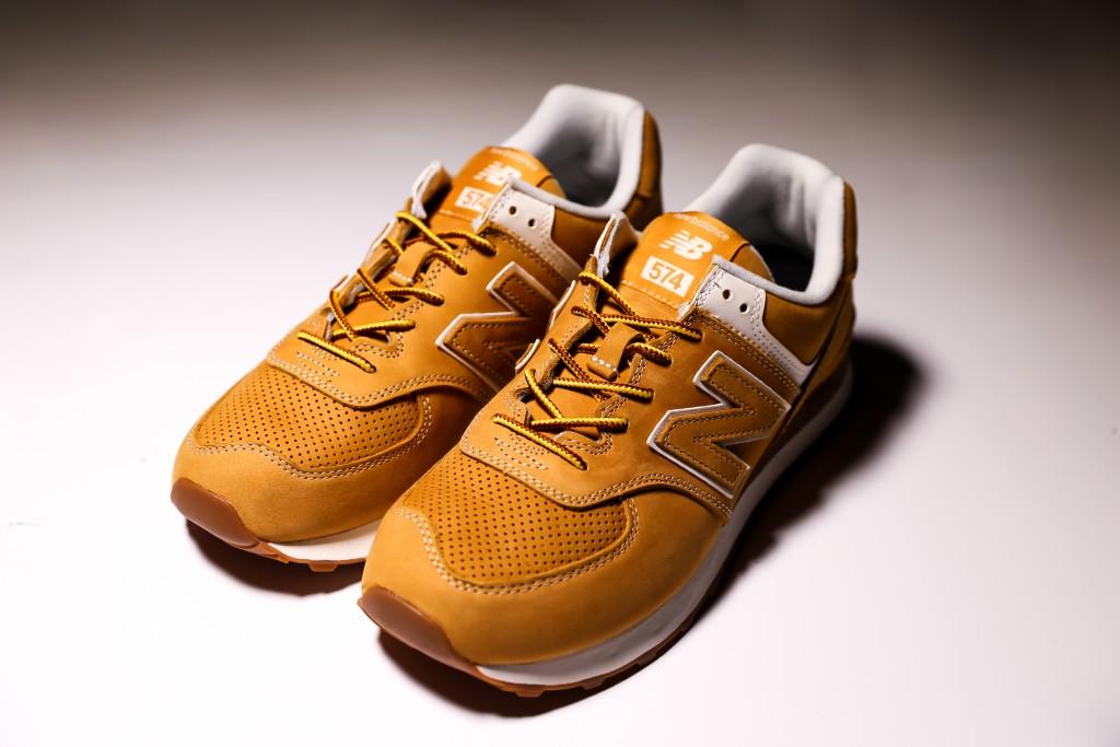 Junya Watanabe Man x New Balance 574休閒鞋,NT$7,300。(團團)