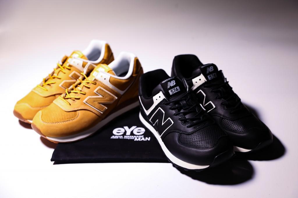 Junya Watanabe Man x New Balance 574-6休閒鞋,NT$7,300。(團團)