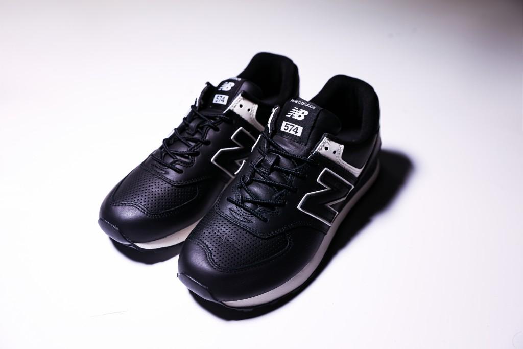 Junya Watanabe Man x New Balance 574-8休閒鞋,NT$7,300。(團團)