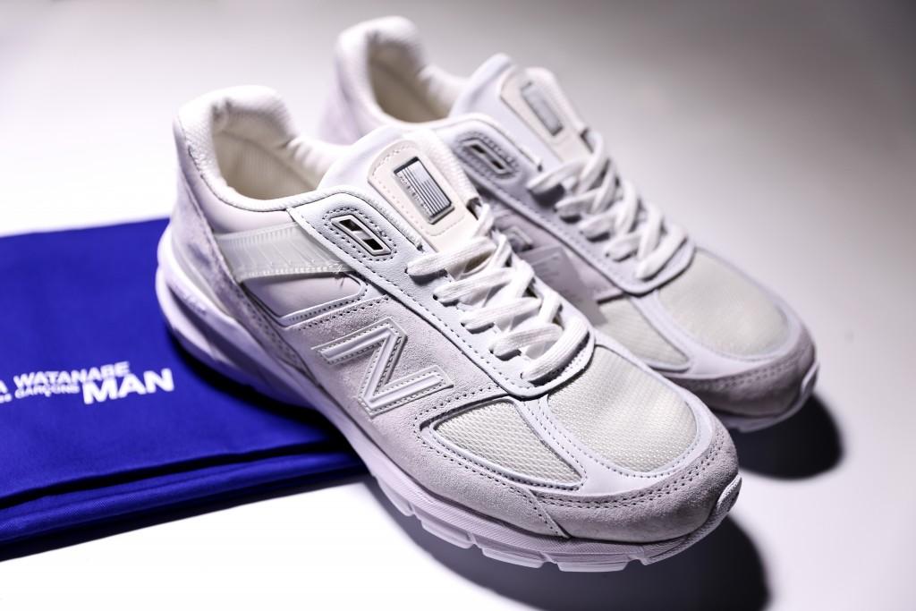 Junya Watanabe Man x New Balance 990v5休閒鞋,NT$13,800。(團團)