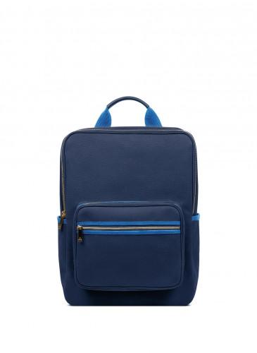 LUNIFORM N°6 LARGE BACKPACK藍藍拼色後背包,NT$28,000。
