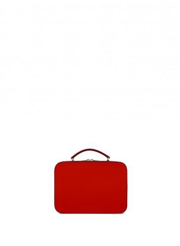 LUNIFORM No°85紅色迷你手提箱,NT$55,200。-1