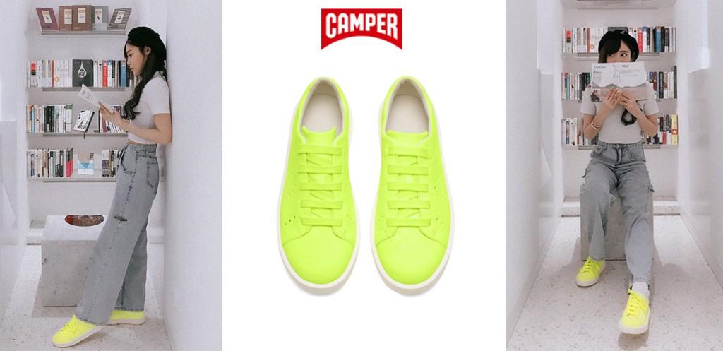 CAMPER Courb系列螢光亮彩