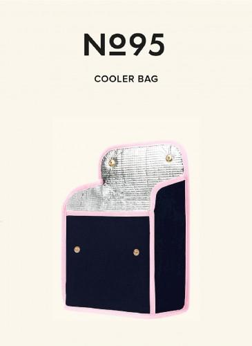 LUNIFORM N°95粉藍配色保冷袋,NT$ 14,000。-1