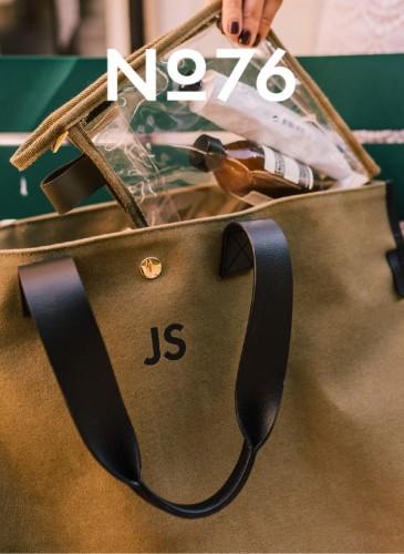 LUNIFORM No°76透明旅行袋,NT$8,800。